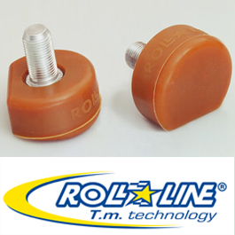 Toe Stops Rink Hockey Roll Line