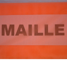 MC00402 - MAILLE ORANGE FLUO