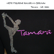 JACKET FIG.2 BIELMAN ROLLER STRASS/EMBROIDERY FIRST NAME